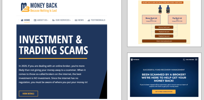 Fund Recovery – A Financial Ombudsman reports scams